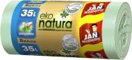 Мешки для бытового мусора Jan Niezbedny крепкие 35 л 30 шт. (Еko natura)