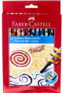 Карандаши цветные восковые 12 шт. 120003 Faber-Castell