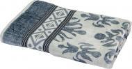 Полотенце Ornament 76-167-193 70x140 см серый Lorenzzo