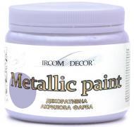 Фарба декоративна акрилова Ircom Decor срібний 0,1 л