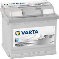 Акумулятор автомобільний Varta C30 54А 12 B 554400053 «+» праворуч
