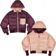 Куртка Converse Womens Down Reversible Utility Puffer 10019428-629 р.L бордовыйпудровый