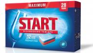 Таблетки для ПММ START Maximum 12 Actions in One 28 шт. 0.504 кг