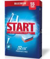 Таблетки для ПММ START Maximum 12 Actions in One 55 шт. 0,990 кг