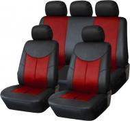 Комплект чохлів на сидіння універсал Auto Assistance АА1829-1 чорний із червоним