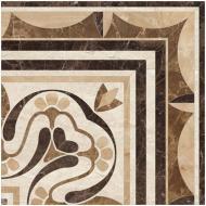 Плитка Golden Tile PETRARCA СHATEAU Corner бежевий декор М91650 40x40