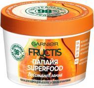 Маска Garnier Fructis Super Food Папайя Восстановление для поврежденных волос 390 мл