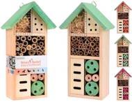 Будиночок для комах 13х8.5х26 см