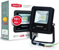 Прожектор Maxus 1-Max-01-LFL-1050 Flood Light LED 10 Вт IP65 чорний