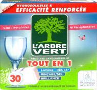 Таблетки для ПММ L'Arbre Vert 30 шт.
