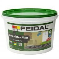 Краска латексная Feidal Innenlatex Matt глубокий мат белый 10л