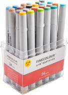 Набор маркеров FINECOLOUR Junior 24 цвета EF101-TB24 разноцветный