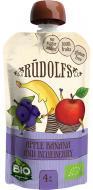 Пюре Rudolfs Смузи яблоко-банан-черника 4751017940952