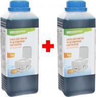 Засіб для дезодорації біотуалетів Кемпінг для нижнього бака 1 + 1 у дарунок