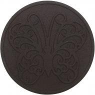 Плитка гумова для садових доріжок Метелик 45х45 см