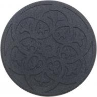 Плитка гумова для садових доріжок з візерунком 45х45 см