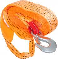 Трос буксирувальний ТКС 5м 5т (петля-гак) помаранчевий