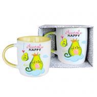 Чашка Avocato Happy 350 мл GGP