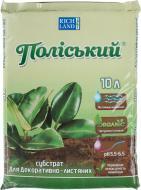 Субстрат Поліський для декоративно-листяних рослин 10 л