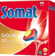 Таблетки для ПММ Somat Gold 40 шт. 0.76 кг