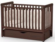 Кроватка детская Veres ЛД12 орех 12.3.1.7.03