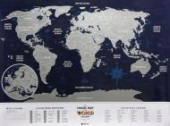 Скретч-карта мира Travel Map Holiday World (англ) (тубус) 1DEA.me