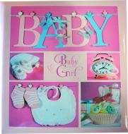 Фотоальбом Baby collage Pink (UA 20sheet Baby collage Pink w/box) EVG