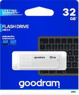 Флеш-пам'ять USB Goodram UME2 32 ГБ USB 2.0 white (UME2-0320W0R11)