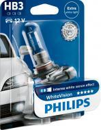 Лампа галогенна Philips WhiteVision+60% (37475930) HB3 P20d 12 В 65 Вт 1 шт 4300