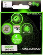 Шнур  Lineaeffe Ff 4X Super Pe Braid 100м 0.14мм 11кг 3006914/GOLD