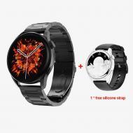 Смарт-часы DT No.1 watch 3  с тонометром Black (SW0001DTW3B)
