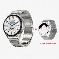 Смарт-часы DT No.1 watch 3  с тонометром Silver (SW0001DTW3S)