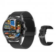 Смарт-часы DT No.1 watch 7  с тонометром Black (SW0001DTW7B)