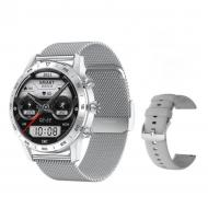 Смарт-часы DT No.1 watch 7  с тонометром Silver (SW0001DTW7S)