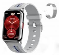 Смарт-часы Lemfo H76 PRO  с тонометром Silver (SW0001LH76PS)