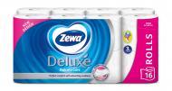 Туалетний папір Zewa Deluxe тришаровий 16 шт.
