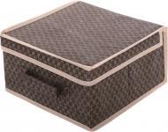 Ящик для зберігання Vivendi для речей Brown коричневий 160х300х300 мм коричневий
