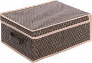 Ящик Vivendi для зберігання речей 160х300х400 мм коричневий