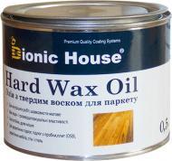 Масло Bionic House Hard Wax Oil с воском для паркету шелковистый мат 0,5 л
