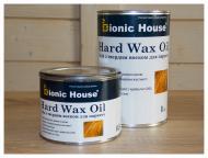 Масло Bionic House Hard Wax Oil с воском для паркету шелковистый мат 1 л