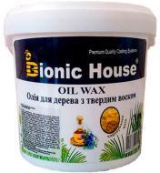 Масло Bionic House Oli wax с карнаубским воском глянец 1 л