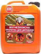 Огнебиозащита Вогнебіощит антипирен-антисептик для внешних и вутренних работ красный 5 л
