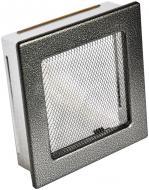 Решітка камінна  4FIRE 17х17 антік срібло