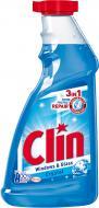 Засіб миючий для скла та дзеркал Clin змінний флакон 0,5л