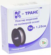 Пластир медичний КАЛИНА МЕДИЧНА К-транс 5 м х 1,25 см на полімерній основі 1 шт.
