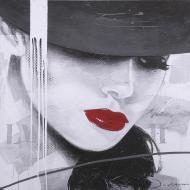 Репродукція Red Lips 2 80-89 80x80 см