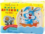 Дитяче мило Невская Косметика з ромашкою 4 шт. 100 г