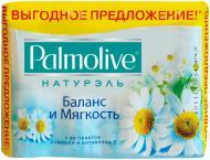 Туалетне мило Palmolive Натурель Баланс і м'якість 360 г 4 шт./уп.