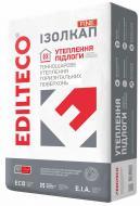Стяжка Edilteco теплоізоляційна полегшена ІЗОЛКАП Fine 50л 15кг