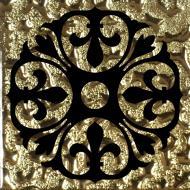 Плитка Grand Kerama Тако Бутон золото рифлена 773 6,6x6,6